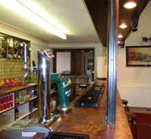 Rugeley Snooker Club Bar - Licensed and open between 8 and 11 pm, Monday to Friday