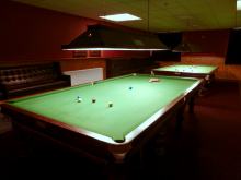 Rugeley Snooker Club Matchroom tables