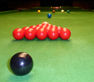 Rugeley Snooker Club Matchroom Table